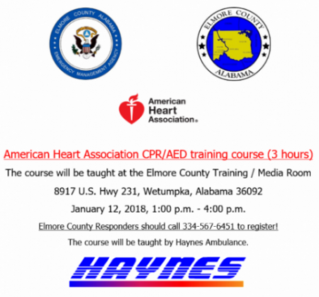 Training & Outreach Opportunities – Elmore County Emergency